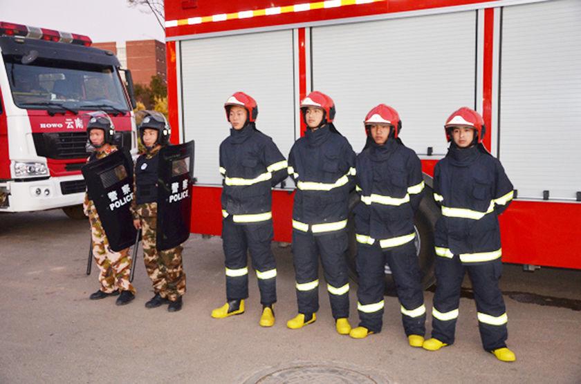 就业于呈贡消防学员们的