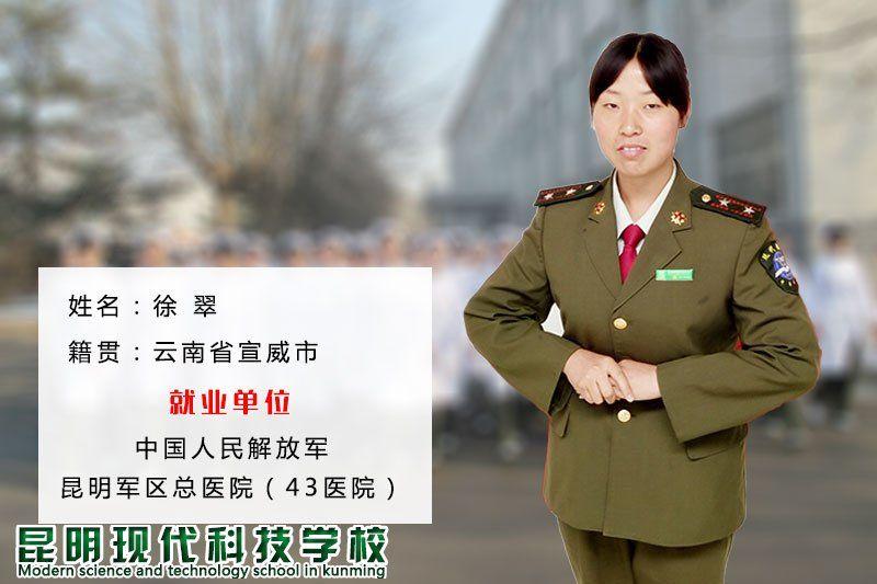 徐 翠-军护专业