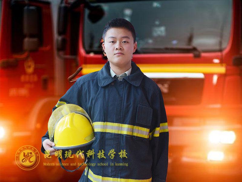 最帅逆行者—消防员